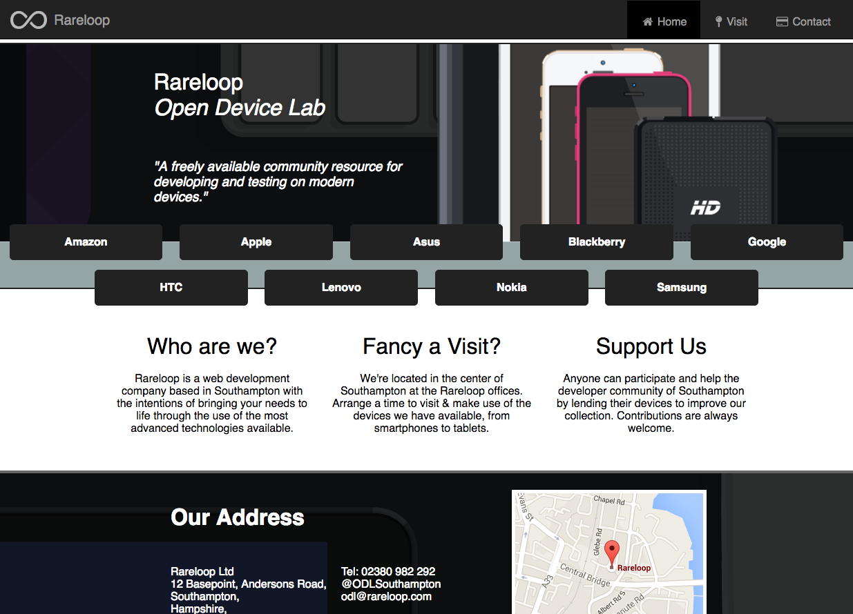 Rareloop Open Device Lab